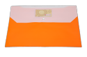 Rectangular Button File Folder