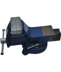 All Steel Bench Vice Swivel Base