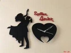 Sublimation Acrylic Wall Clock