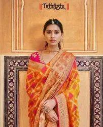 Tatahstu 3300 Series Elegant Silk Designer Fancy Sarees Catalog Collection