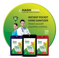 Hashtag 18ml Pocket Hand Sanitizer