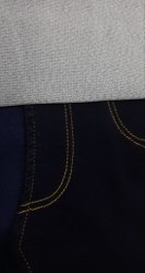 COTTON X POLY Knitted DENIM FABRIC