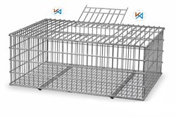 Chicken Transportation & Lifting Cage For Poultry Farm