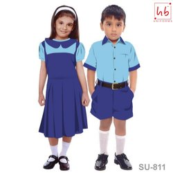 HB Uniforms Cotton SU-811 Kids School Uniform