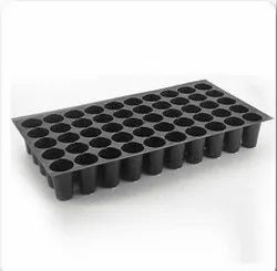 NEEL AGROTECH Plastic 70 Cavity Seedling Tray, For Agriculture