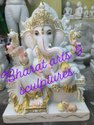 24 Inch Marble Lord Ganesha Statue