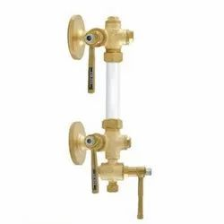 1050 Flanged Bronze Sleeve Packed Water Level Gauge