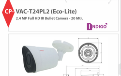 CP Plus Bullet Camera 2MP Cp-Vac-T24PL2