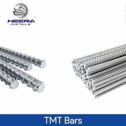 10mm Mild Steel TMT Bar, Grade: Fe 500D