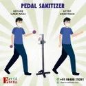 Pedal sanitizer