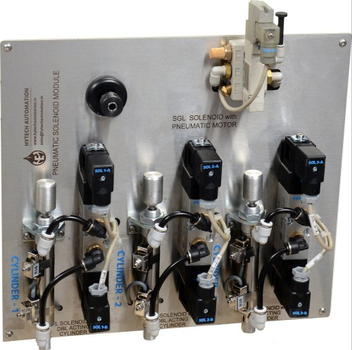 PLC HMI- Industrial Automation Pneumatic Solenoid Module