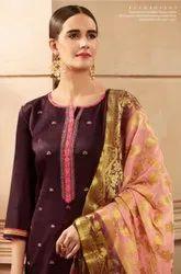 Kessi Parampara Vol-3 Straigh Cotton Silk Salwar Suits Catalog