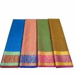 Casual Wear Cotton Designer Printed Saree, 6.30 Meter