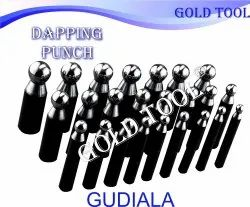 Gold Tool Steel Dapping Punch