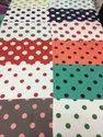 Polyester Muslin Printed Fabric