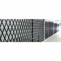 Push And Pull Black MS Collapsible Gate, For Commercial