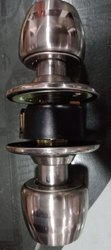 Round SS Door Knob Lock, Box
