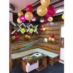 2-3 Feet Decor plast PVC Office Furniture Set