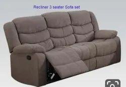 Recliner Three Seater Sofa Set