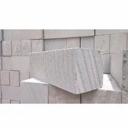Autoclaved Aerated Concrete Cuboid 260 x 200 x 600 mm Solid AAC Blocks, For Side Walls