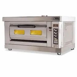 Butler Stainless Steel Electric Deck Oven With Steam, For Bakery, Bread