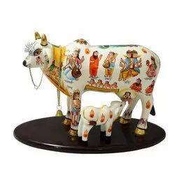 Sacred Cow & Calf On Base