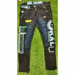 Comfort Fit Casual Wear Mens Designer Denim Jeans, Waist Size: 28 - 36
