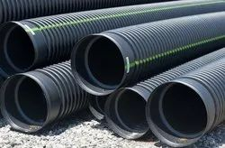 170 Mm Id HDPE Double Wall Corrugated Sewerage Pipe