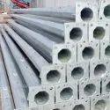 Mild Steel 3 Mtr Octagonal Pole, For Highway