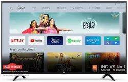 Black Panel Mount MI Smart LED TV, Hdmi, Usb, Screen Size: 32