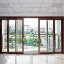 Manual Sliding Glass Door, For Hotel, Exterior