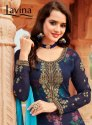 Lavina Vol -7 Classics Georgette With Digital Printed Inner With Embroidery Salwar Kameez Wholesale
