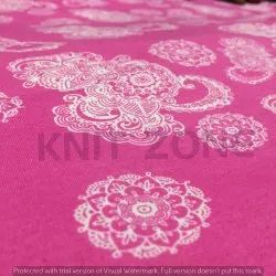 Printed Cotton Single Jersey Fabric