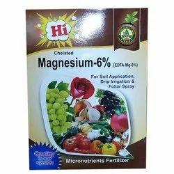 Powder Magnesium 6% Micronutrient Fertilizer, For Agriculture, Packaging Size: 1 Kg