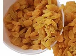 HAPPY FOODS Golden Kismis Best Quality And Best Price (100% Natural), Packaging Size: Carton Box