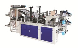 Om Extrusion Fully Automatic Polythene Bag Making Machine