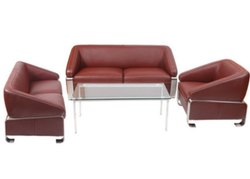 ES-1505 Brown Office Sofa