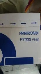 Black Printronix P7000 Ribbon Cartridges Spool