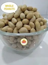 BROWN BLANCHED ROASTED PEANUTS PLAIN