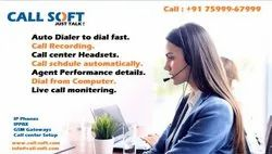 Call Center Dialer, Unlimited Seats And No Monthly Rental.