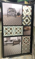 Turkey Ceramic 20x20 Bien Series Tiles, 200x200 Mm, Thickness: 5-10 Mm