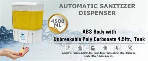 AUTOMATIC HAND SANITIZER ENCLOSURE 4500 ML