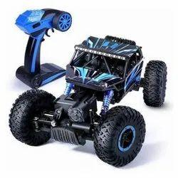 Blue ABS Plastic Leader Rock Crawler Remote Control Car