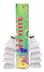 White Queen Badminton Shuttlecock