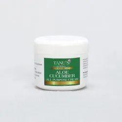 Tanu's ALOE CUCUMBER CREAM, Jar, Packaging Size: 25 Gram