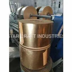 Star Craft Plain Gold Laminated Paper Roll, Packaging Size: 300 Kg