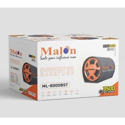 3500 W Black Malon ML 8000BST Sub Woofer