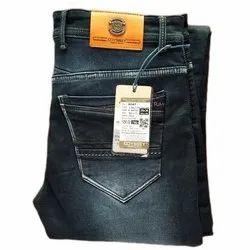 Faded Narrow Fit Mens Black Denim Jeans, Waist Size: 28 X 36 inch, 30 X 38 Inch