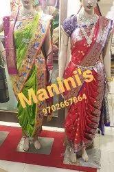 Manini\'s Rajlaxmi Nauvari Saree
