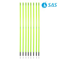 Agility Spring Slalom Pole (Set Of 8)